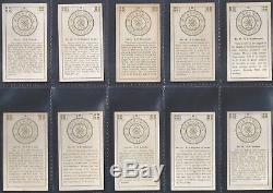 Wills Other Overseas-full Set- Ships & Their Pennants (36 Cards) All Scanned