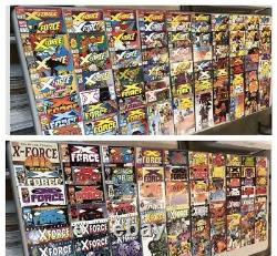 X-force 1-129 Full Set (ALL 5 #1)+ Annuals 1 2 3, Deadpool Rookie Card (XF01)