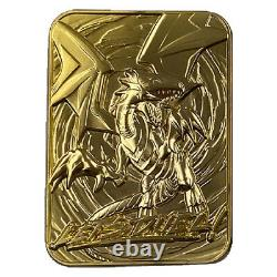 Yu-Gi-Oh! Limited Edition GOLD GOD CARDS ETA APRIL 2021 ALL 3 GOLD CARDS