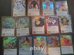 Zatch Bell Card Battle Series 1 Booster Pack Complete Foil Set All Holographic